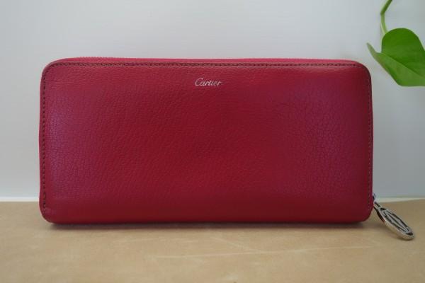 1069540fa21f Hanakoya事例集 詳細:カルティエ長財布 クリーニング:Cartier:財布の ...